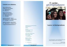 brochure laurea magistrale