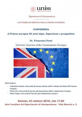 L'Unione Europea 60 dopo. Esperienze e prospettive