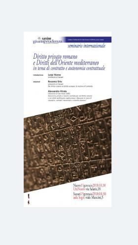 Seminario internazionale di Diritto privato romano